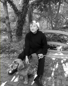 Brian with dog